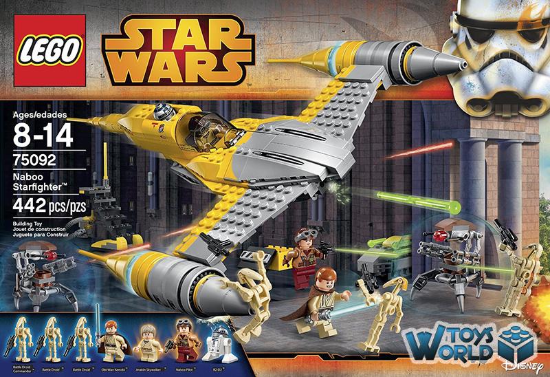 LEGO Star Wars: 'Naboo Starfighter' Set [75092] – ToysWorld