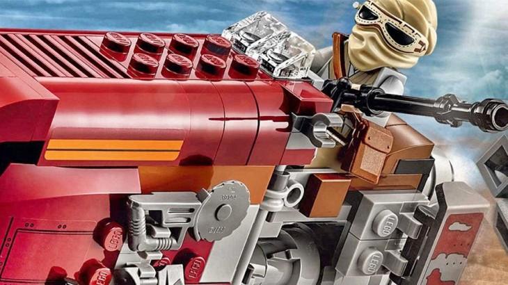 Lego Star Wars The Force Awakens Reys Speeder Set 75099
