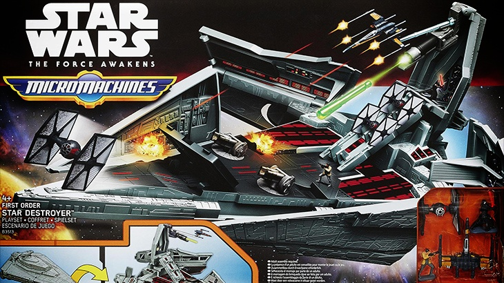 2015 STAR WARS MICRO MACHINES STAR DISTROYER