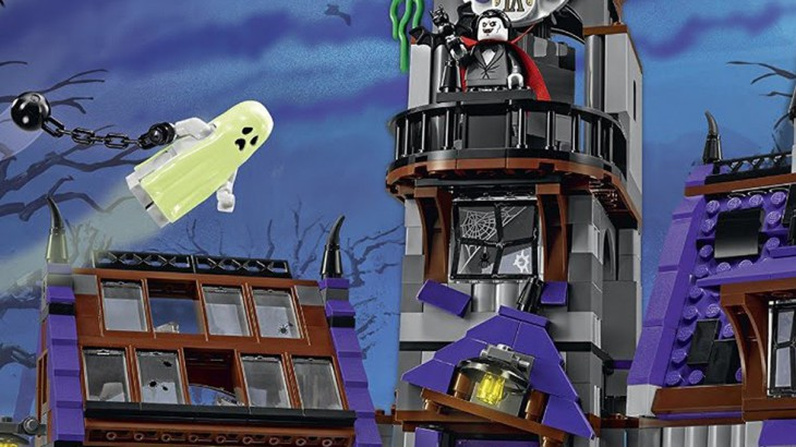 Lego Scooby Doo Mystery Mansion Set 75904