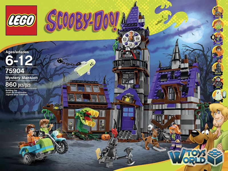 Scooby Mansion' Doo'mystery Lego Scooby Doo'mystery Mansion' Set75904 Lego Lego Set75904 Scooby kn0wO8P