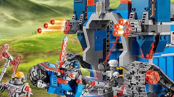 Lego nexo knights the fortrex set 70317 toysworld - Knights of the round table lego ...