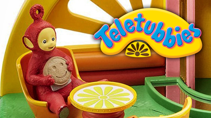teletubbies superdome playset � character options