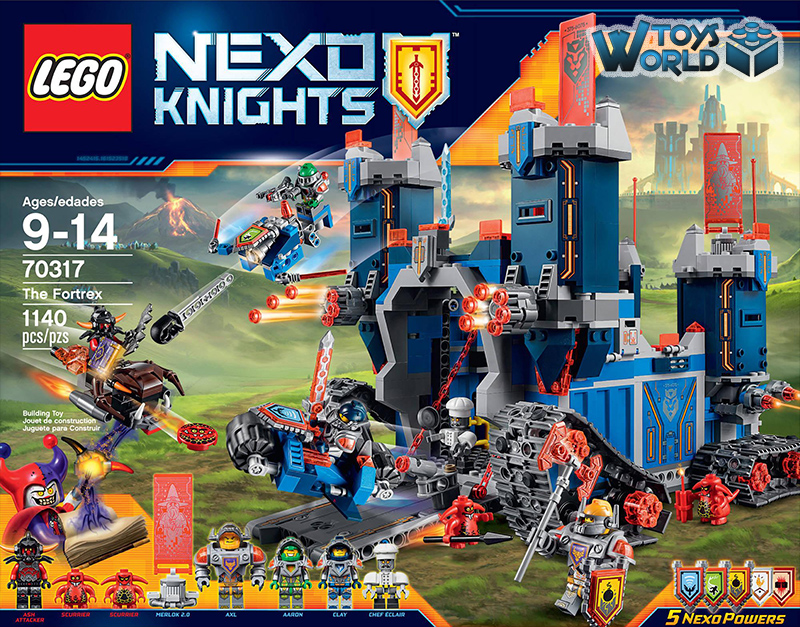 Lego Nexo Knights The Fortrex Set 70317 Toysworld