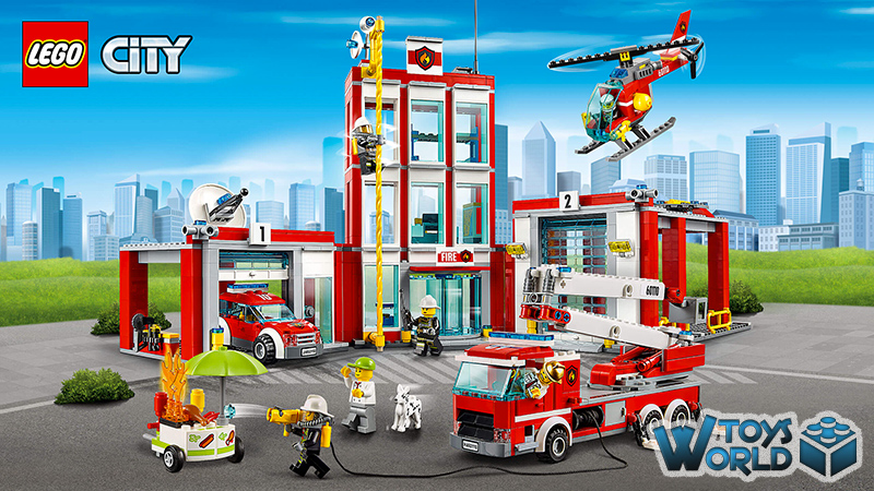 Lego City Fire Station 60110 Toysworld