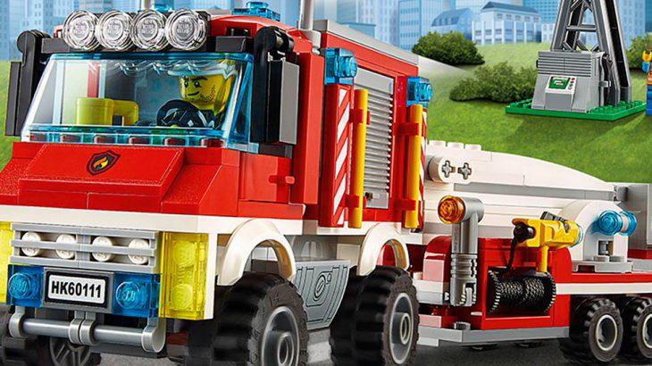 LEGO City: 'Fire Utility Truck' 60111 - ToysWorld