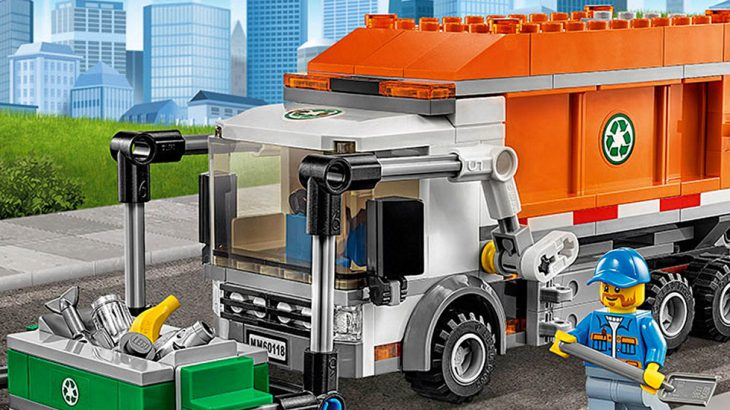 Lego Recycling Truck Instructions 60118