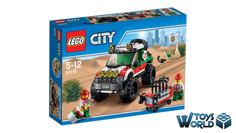 Lego City 4 X 4 Off Roader 60115 Toysworld