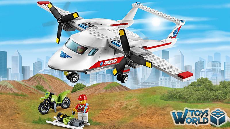 LEGO City: 'Ambulance Plane' [60116] – ToysWorld