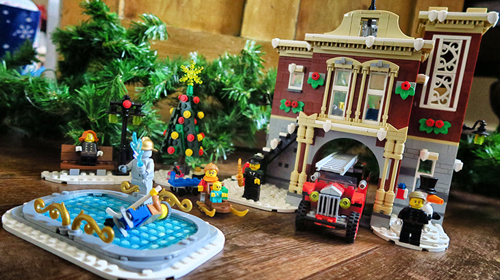 REVIEW – LEGO Creator Expert: Winter Village Fire Station